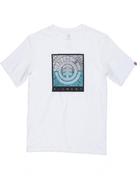 Element Cast Short Sleeve T-Shirt in Optic White