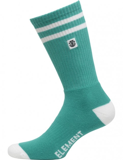 Element Clearsight Crew Socks in Dynasty Green