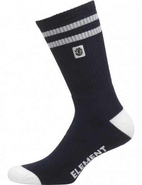 Element Clearsight Crew Socks in Eclipse Navy