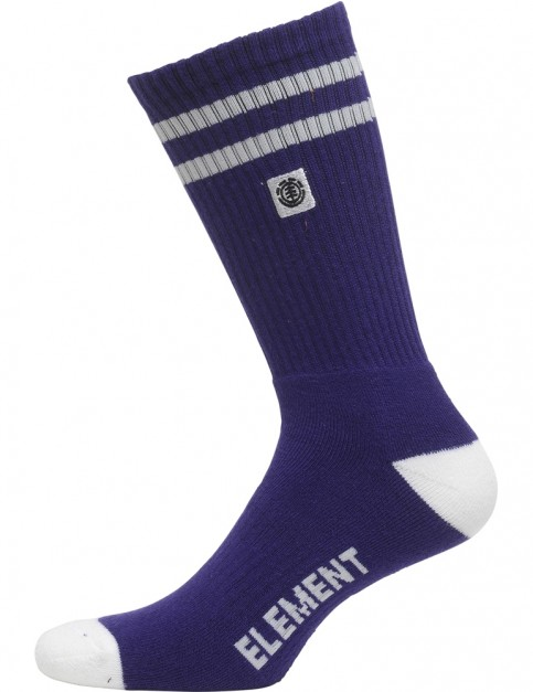Element Clearsight Crew Socks in Gentian Violet