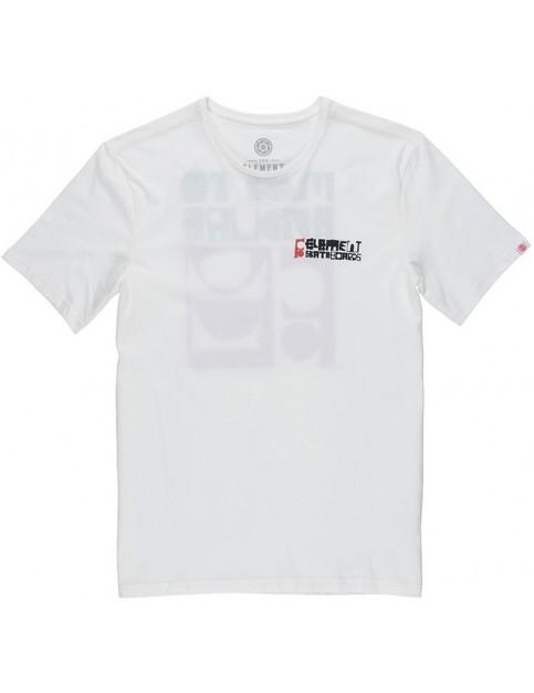 Element Combi Short Sleeve T-Shirt in Bone White