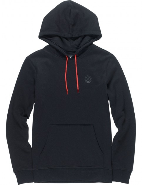Element Cornell Classic Dwr Pullover Hoody in Flint Black