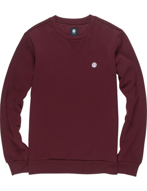 Element Cornell Classic Sweatshirt in Napa Red