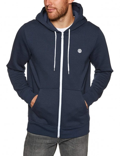 Element Cornell Classic Zipped Hoody in Eclipse Navy