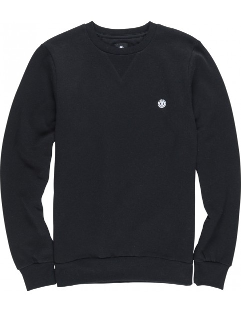 Element Cornell Crew Sweatshirt in Flint Black