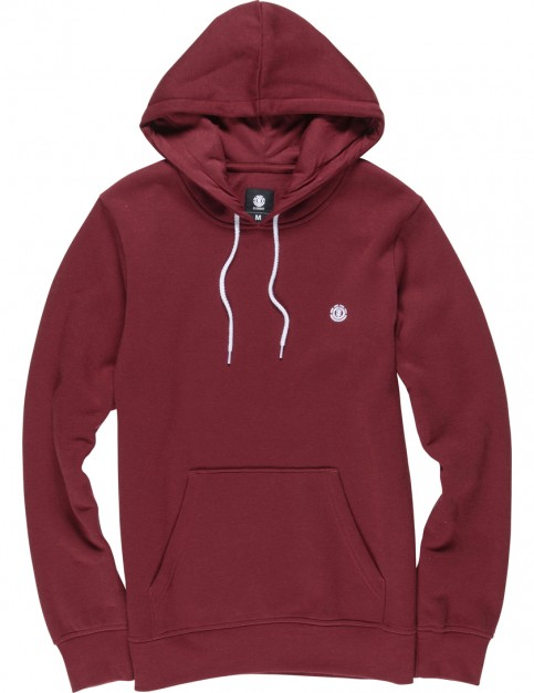 Element Cornell Pullover Hoody in Oxblood Red