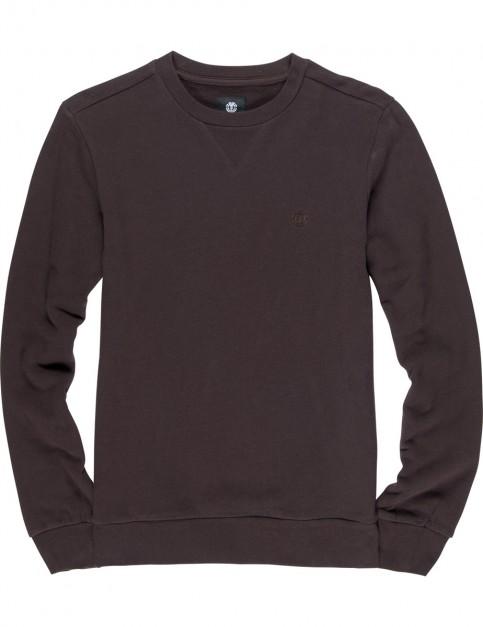 Element Cornell Terry Sweatshirt in Chocolate Torte