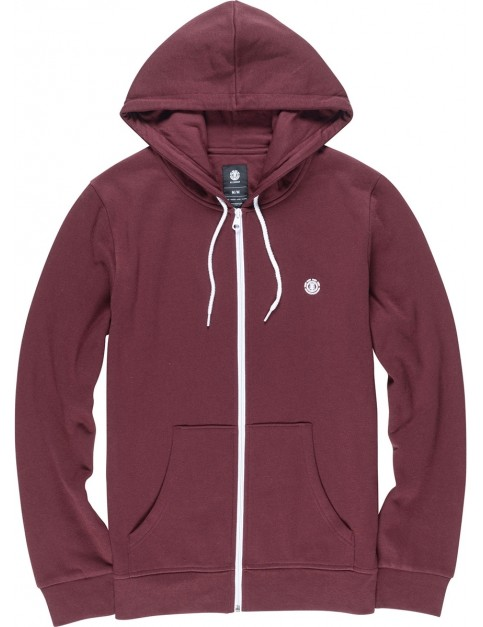 Element Cornell Zipped Hoody in Napa Red