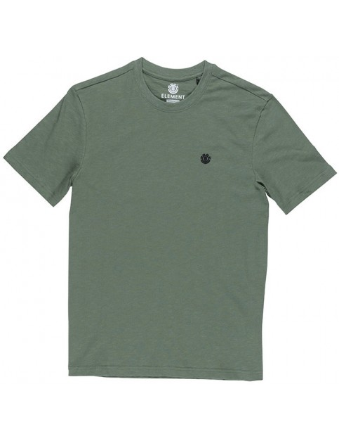 Element Crail Short Sleeve T-Shirt in Duck Green