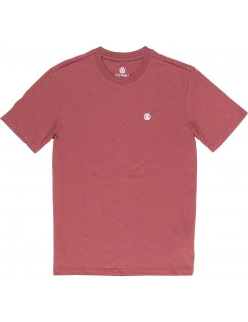 Element Crail Short Sleeve T-Shirt in Port