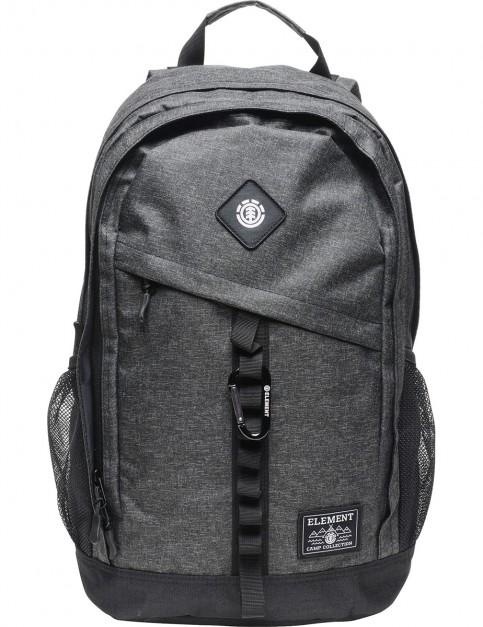 Element Cypress Backpack in Black Grid Htr