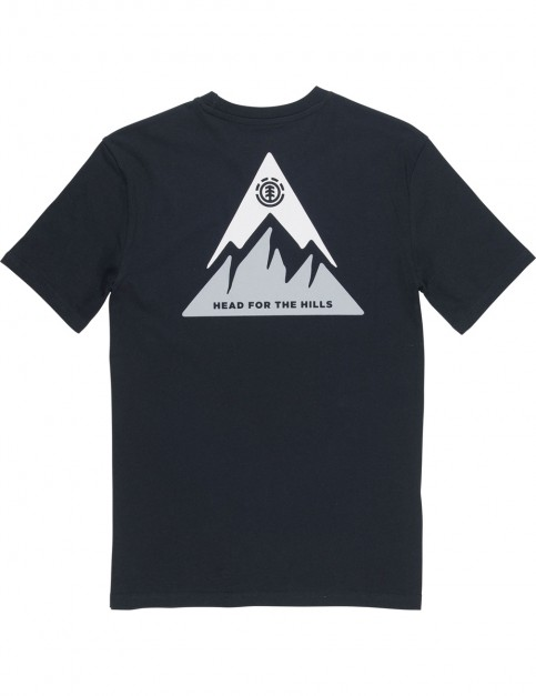 Element Delta Short Sleeve T-Shirt in Flint Black