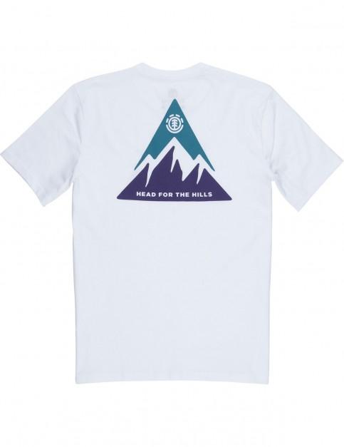 Element Delta Short Sleeve T-Shirt in Optic White