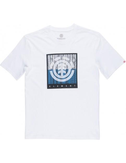 Element Density Short Sleeve T-Shirt in Optic White