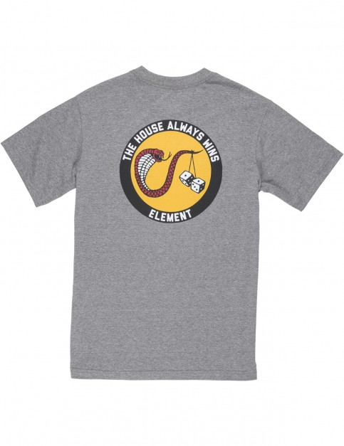 Element Dice Short Sleeve T-Shirt in Grey Heather