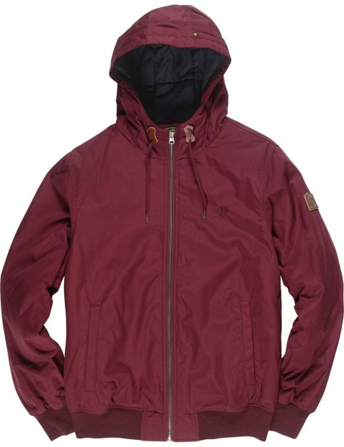 Element Dulcey Jacket in Napa Red