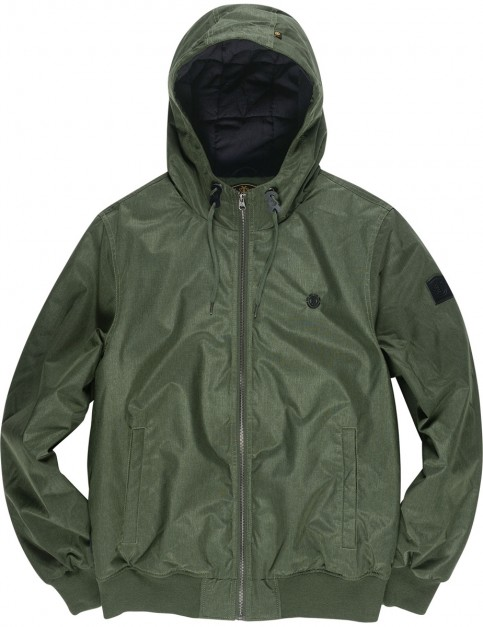 Element Dulcey Jacket in Olive Dra Ht