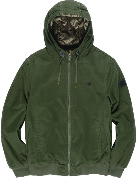 Element Dulcey Wash Jacket in Olive Drab