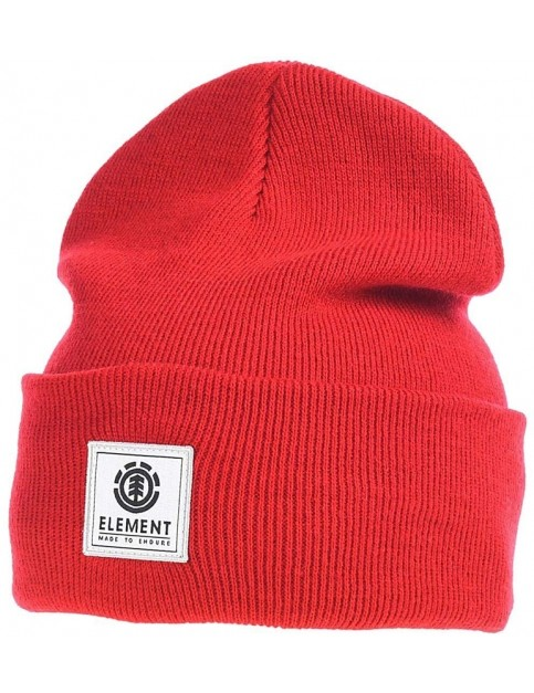 Element Dusk II Beanie in Fire Red
