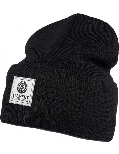 Element Dusk II Beanie in Flint Black