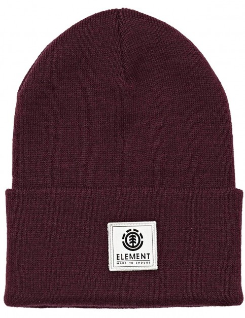 Element Dusk II Beanie in Napa Red