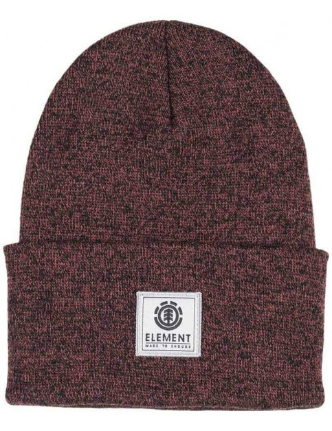 Element Dusk II Beanie in Oxblood Heather