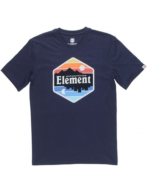 Element Dusk Short Sleeve T-Shirt in Eclipse Navy