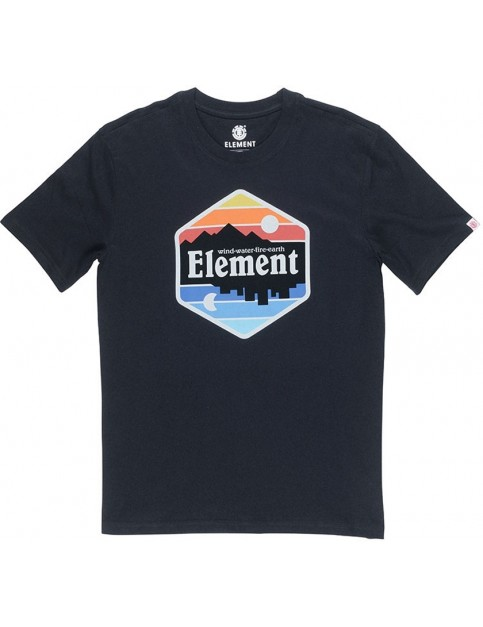 Element Dusk Short Sleeve T-Shirt in Flint Black