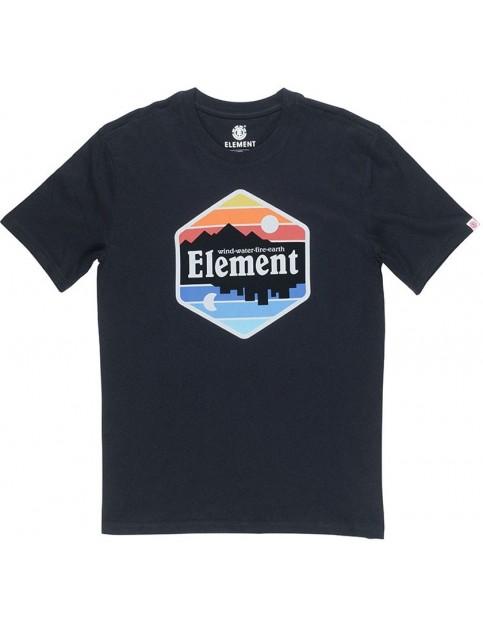 Element Dusk Short Sleeve T-Shirt in Flint Black