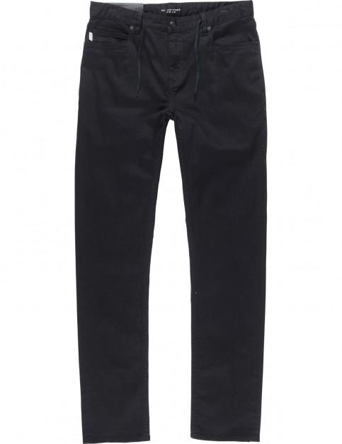 Element E02 Colour Slim Fit Jeans in Flint Black