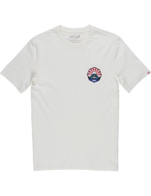 Element EA Japan Short Sleeve T-Shirt in Bone White