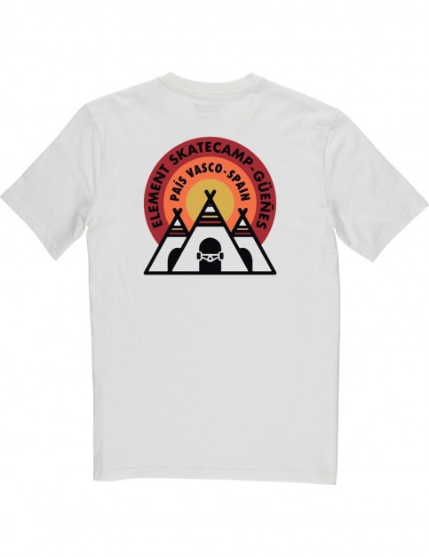 Element EA Spain Short Sleeve T-Shirt in Bone White