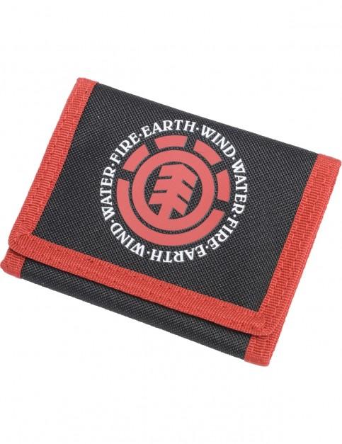 Element Elemental Polyester Wallet in Black
