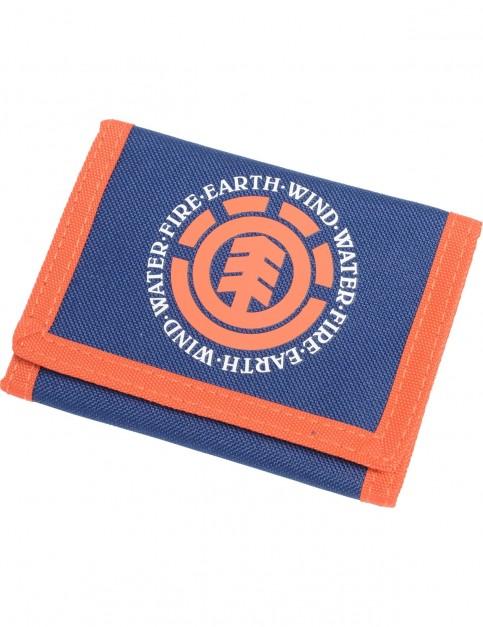 Element Elemental Polyester Wallet in Boise Blue