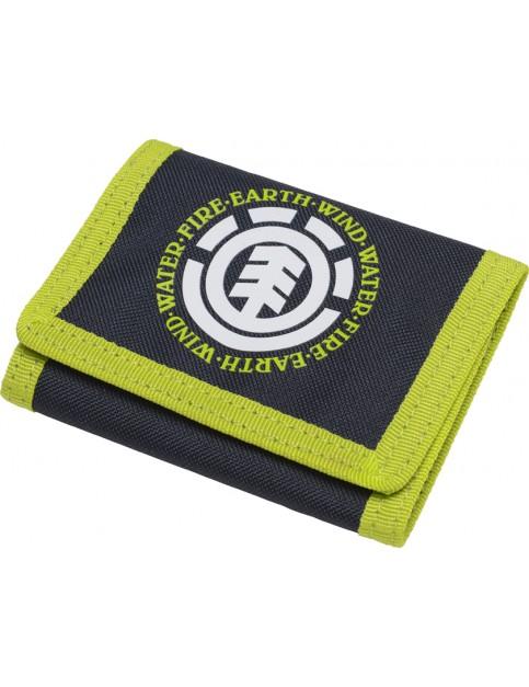 Element Elemental Polyester Wallet in Eclipse Navy