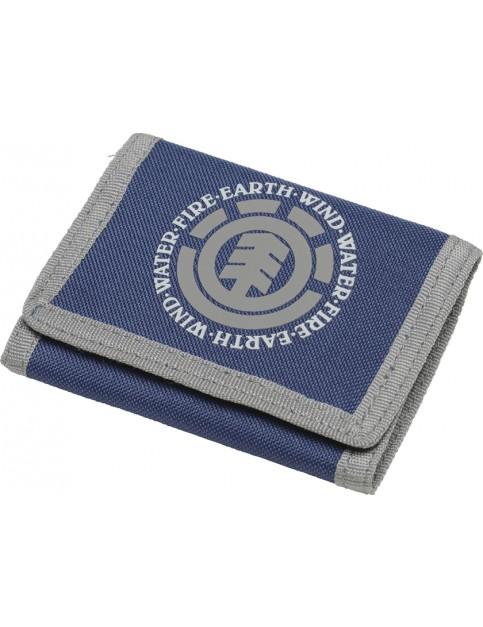 Element Elemental Polyester Wallet in Dark Denim