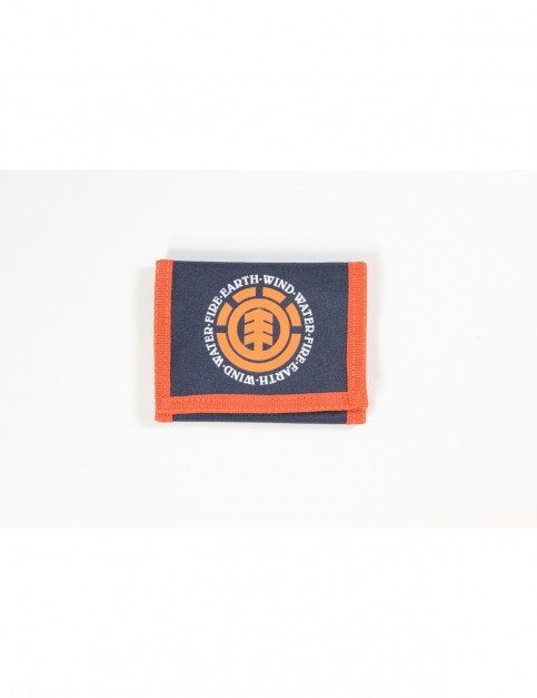 Element Elemental Polyester Wallet in Eclipse Navy