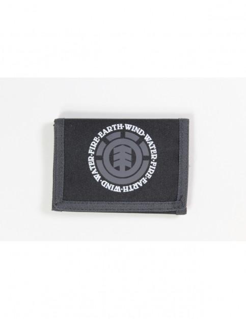 Element Elemental Polyester Wallet in Origional Black