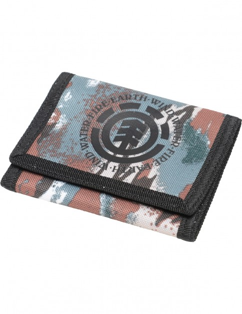 Element Elemental Polyester Wallet in Sawtooth Camo