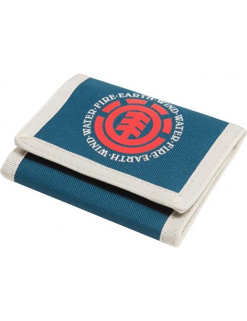 Moroccan Blue Element Elemental Polyester Wallet