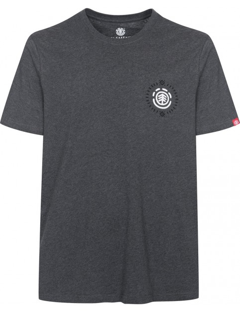 Element Elna Short Sleeve T-Shirt in Charcoal Heather