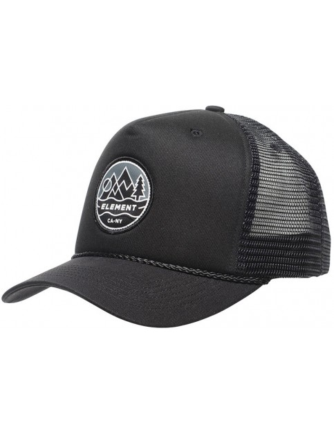 Element Emblem II Cap in Flint Black