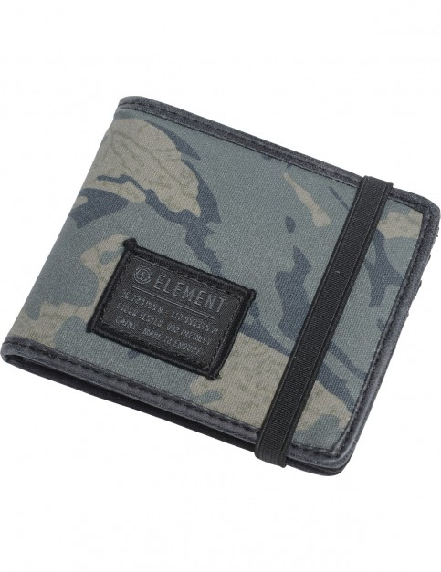 Element Endure Fabric Wallet in Map Camo