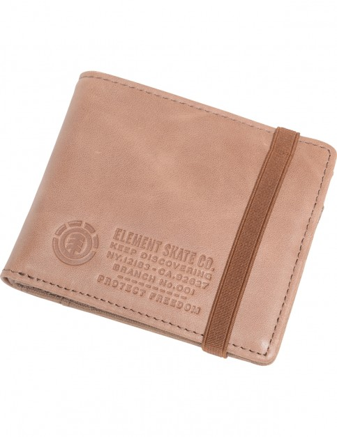 Element Endure Faux Leather Wallet in Brown
