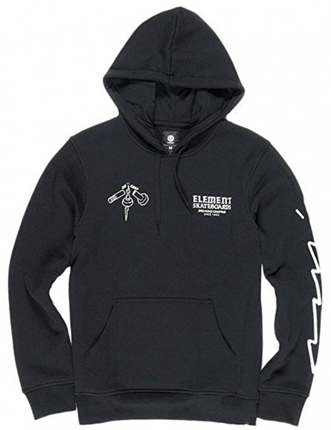 Element EP Pullover Hoody in Flint Black