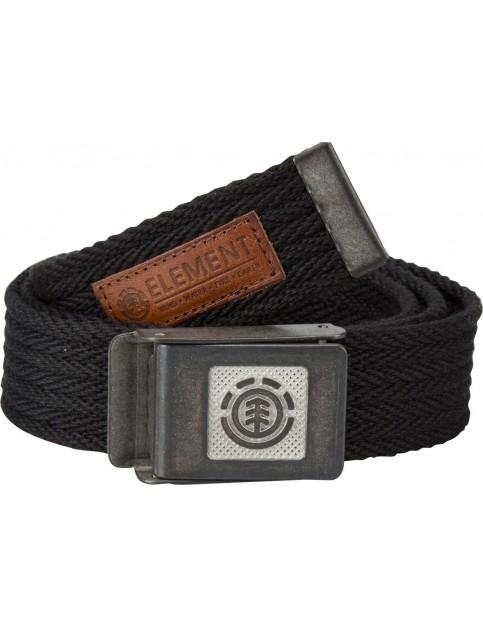 Flint Black Element Faber Webbing Belt