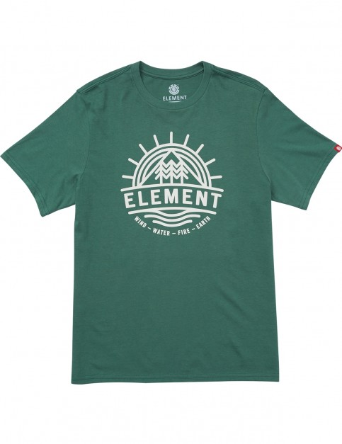 Element Factor Ss Short Sleeve T-Shirt in Hunter Green