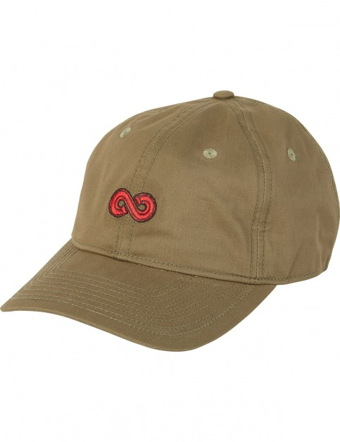 Element Fluky Dad Cap Cap in Military Green
