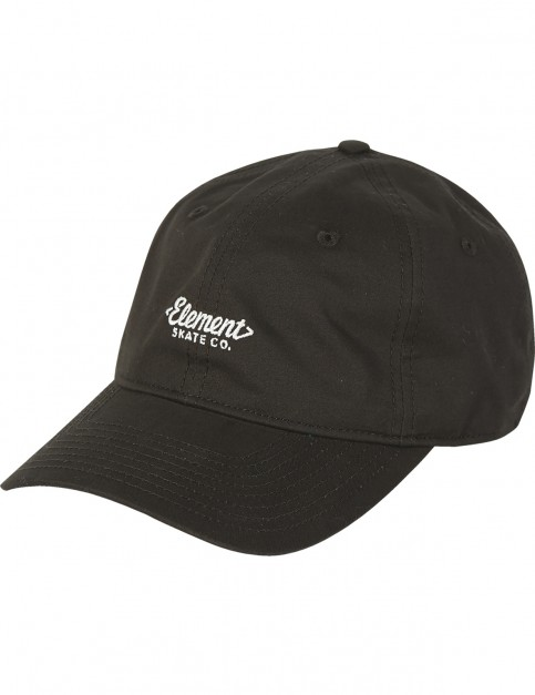 Element Fluky Dad Cap Cap in Original Black