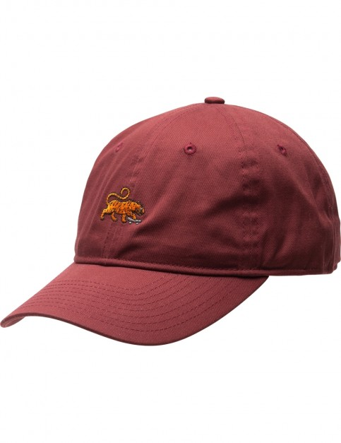 Element Fluky Dad Cap in Oxblood Red